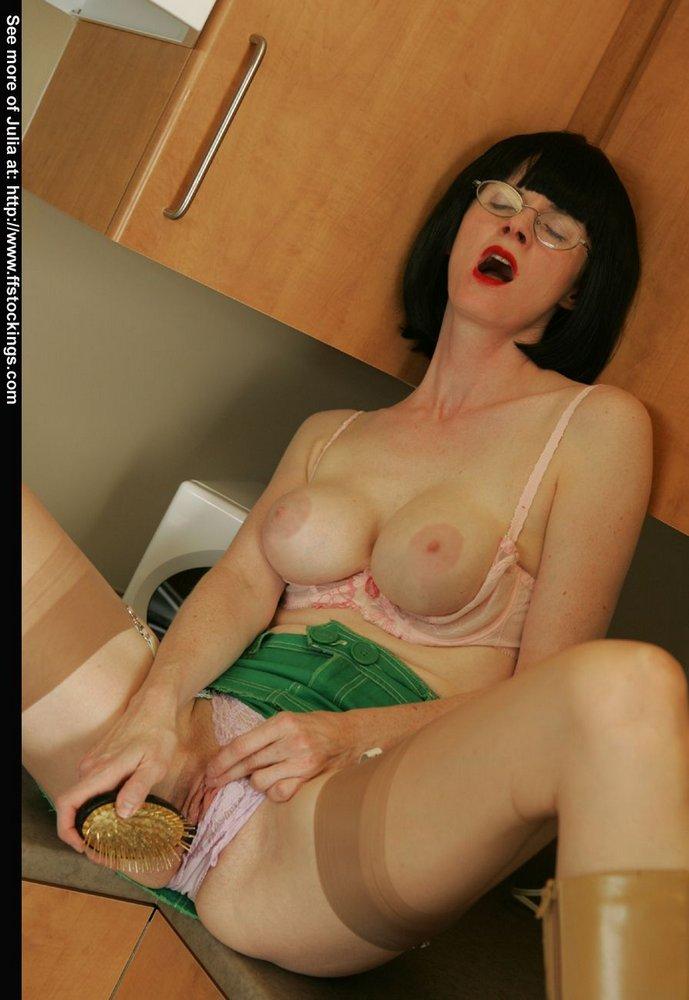 Curious Julia the naughty teacher strapon accept. The